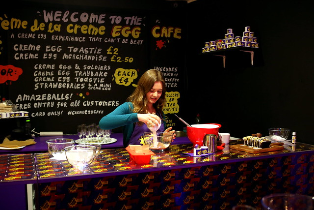 Creme Egg Cafe, London (3)