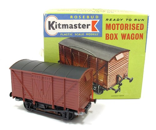 Kitmaster motorised van