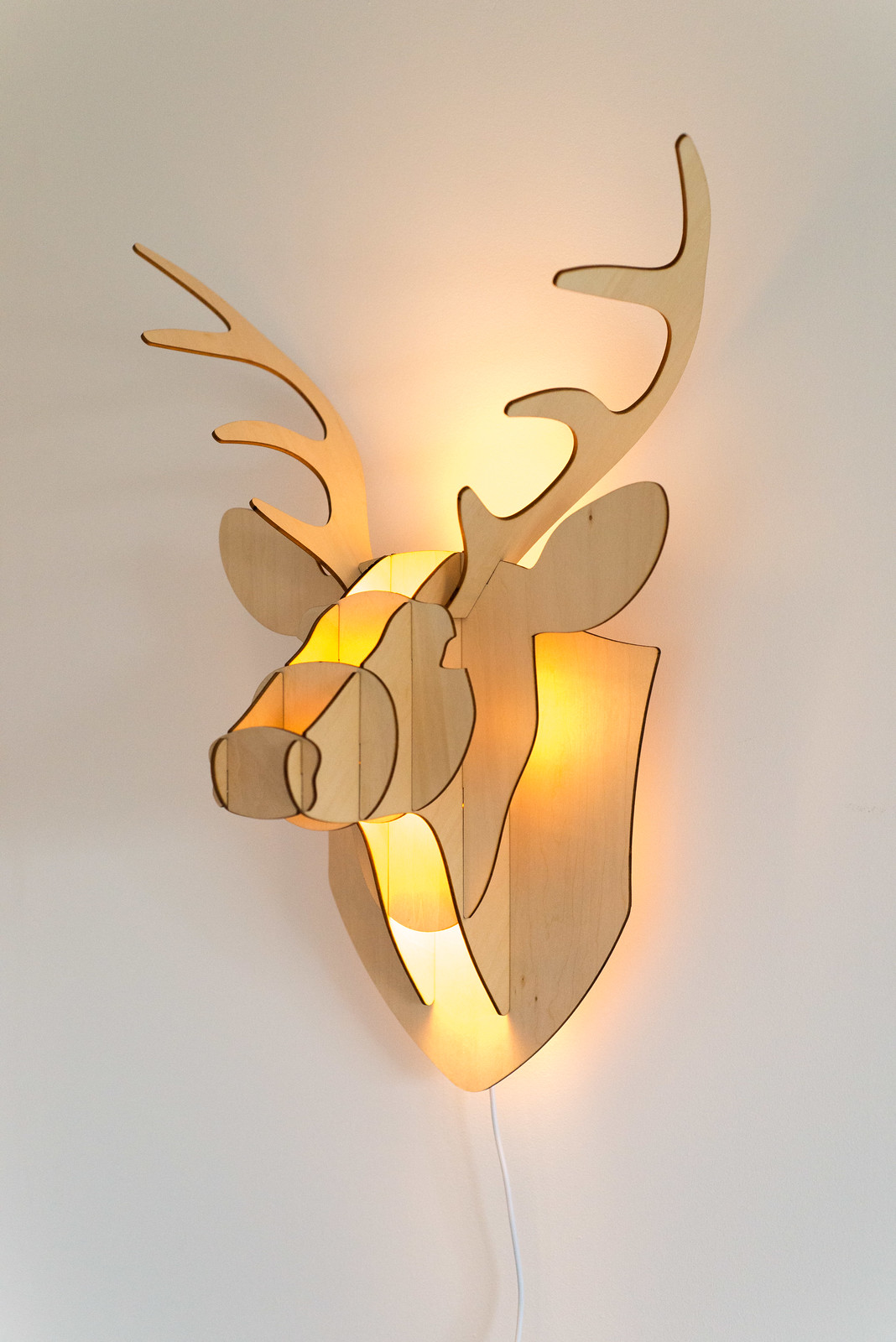 Iconic lights stag head light review maybush studio i also love the way the light reflects of the angular shape of the stag head and i mozeypictures Gallery
