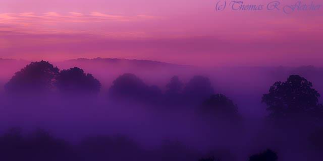 Misty Mountain Dawn