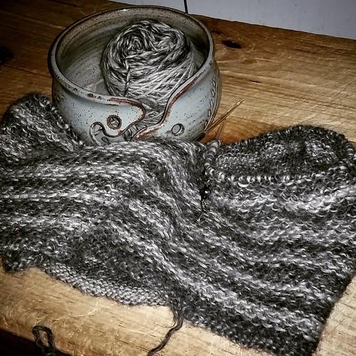 #dogmomswhoknit knitting #honeycowl #getyourkniton #LapdogCreations ©LapdogCreations