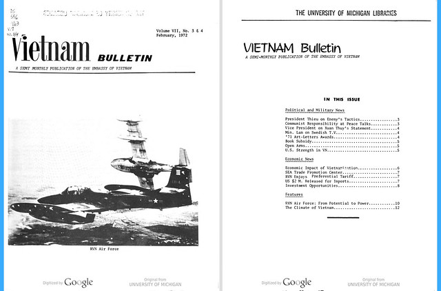 VIETNAM Bulletin No. 3 & 4 - February 1972 (1) - RVN Air Force