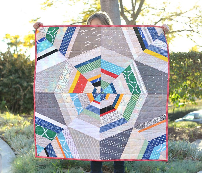 Octagon Quilting Templates : Octagon Shimmer Baby Quilt Kitchen Table Quilting