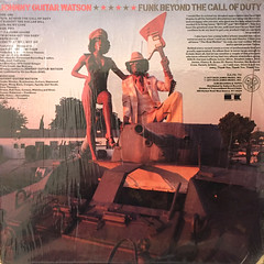JOHNNY GUITAR WATSON:FUNK BEYOND THE CALL OF DUTY(JACKET B)