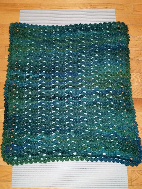 Nathaly's baby blanket