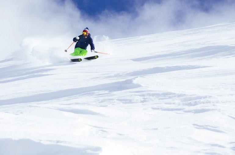 Technika jízdy problematickým sněhem