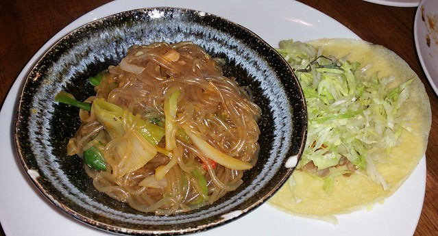 2016-Mar-9 Kosoo - Kosoo taco, japchae (for 1 person)