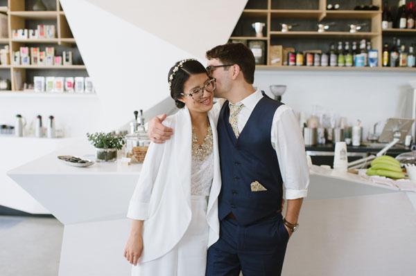 Celine Kim Photography KM Intimate restaurant Cluny Bistro Distillery District Toronto summer wedding-26
