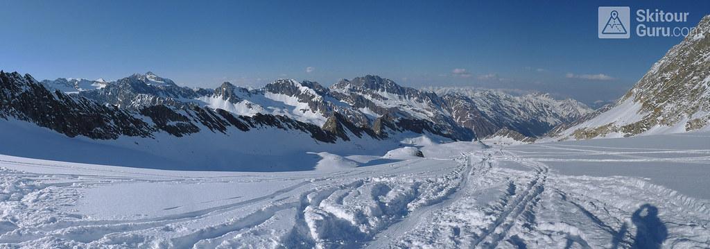Kraulscharte Stubaiské Alpy Österreich foto 21