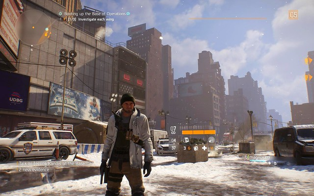 The Division (PC) - New York in winter!