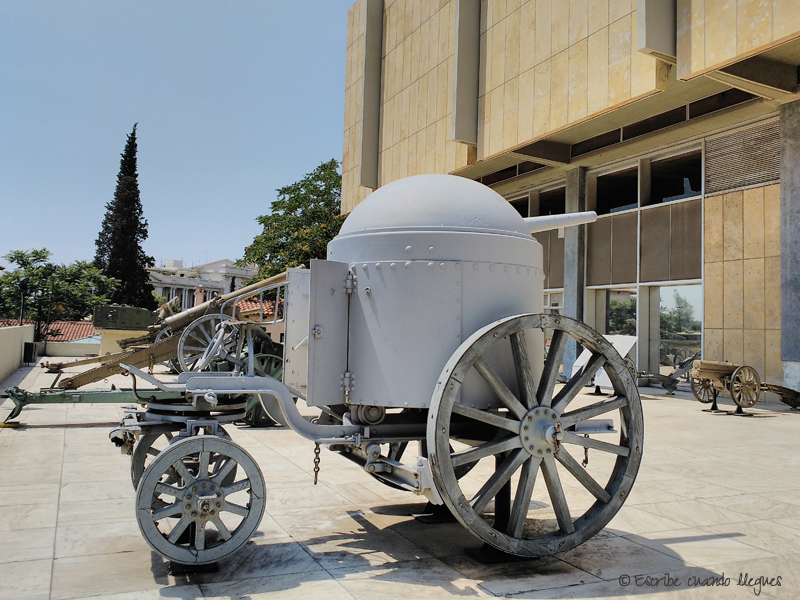Cañón de primeros años del siglo XX