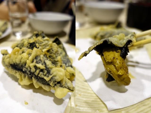 Oedo Japanese Restaurant- Uni Tempura P260