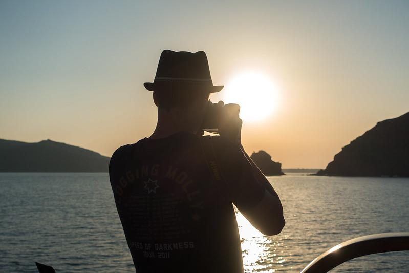 Santorini sunset cruise, 20 September 2015 154-1-2