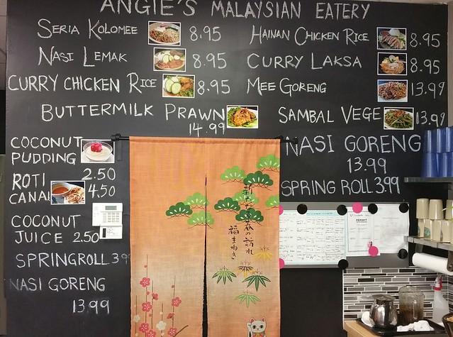 2016-Mar-10 Angie's Malaysian Eatery - menu