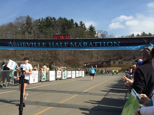 Asheville Half Marathon 3