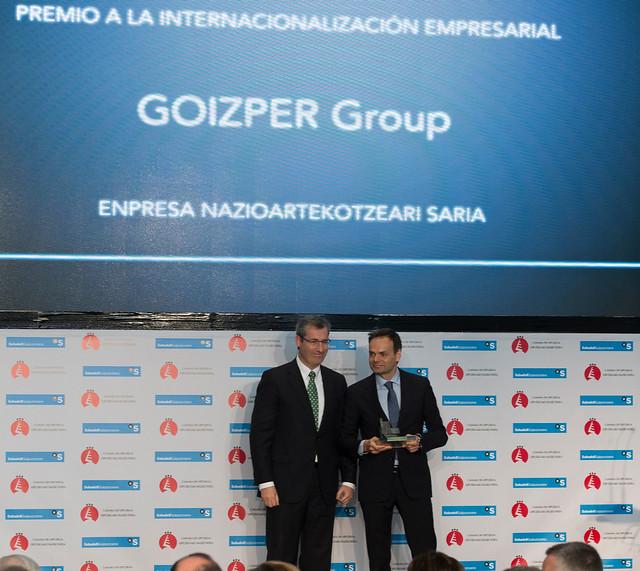 Premio Goizper Group Empresa Internacional 2016