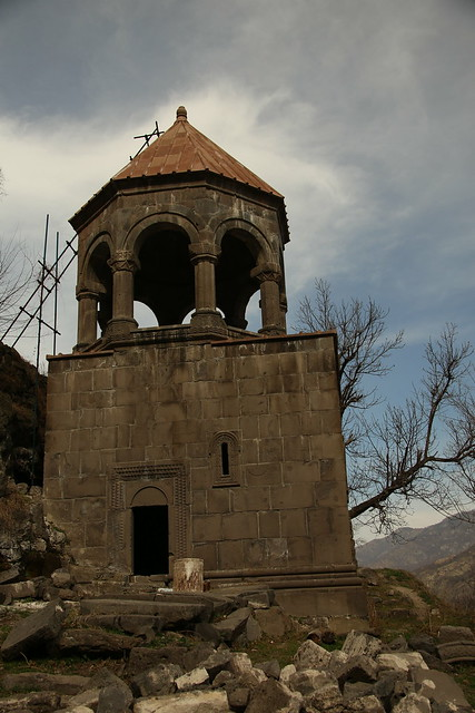The ruins of Kobayr Monastery