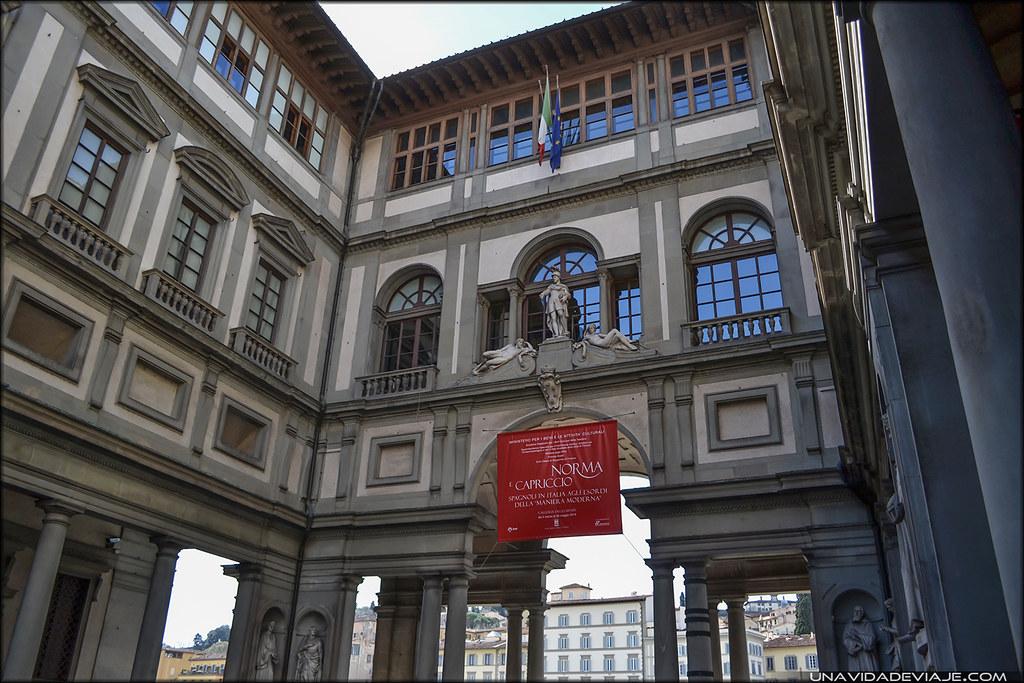 que ver en Florencia Galeria degli Uffizi