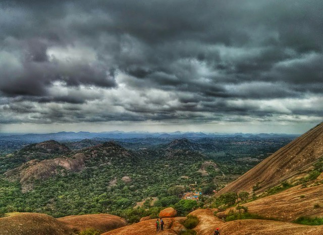 Savandurga Night Trekking Bangalore