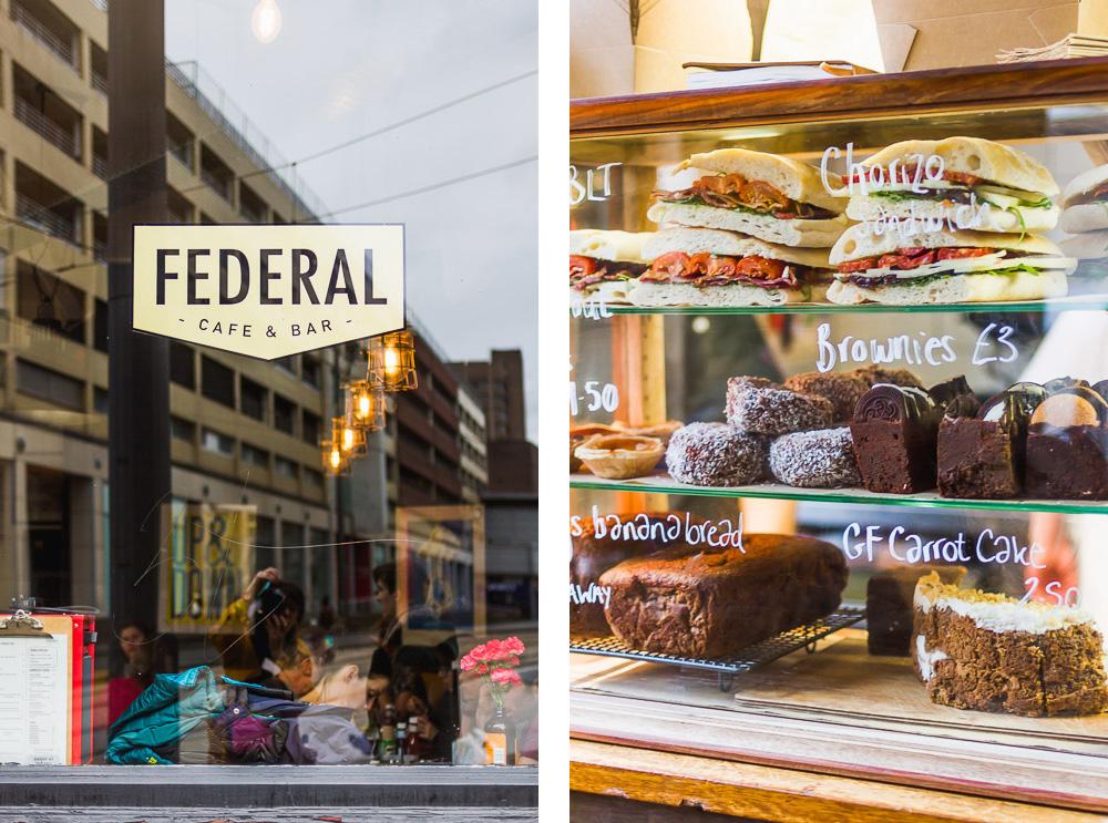 federal australian cafe manchester breakfast