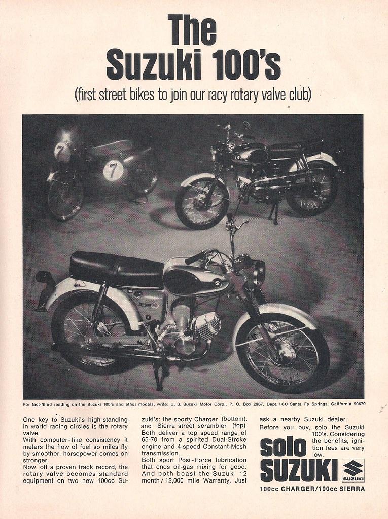 Suzuki 100 | speedfourjoe | Flickr