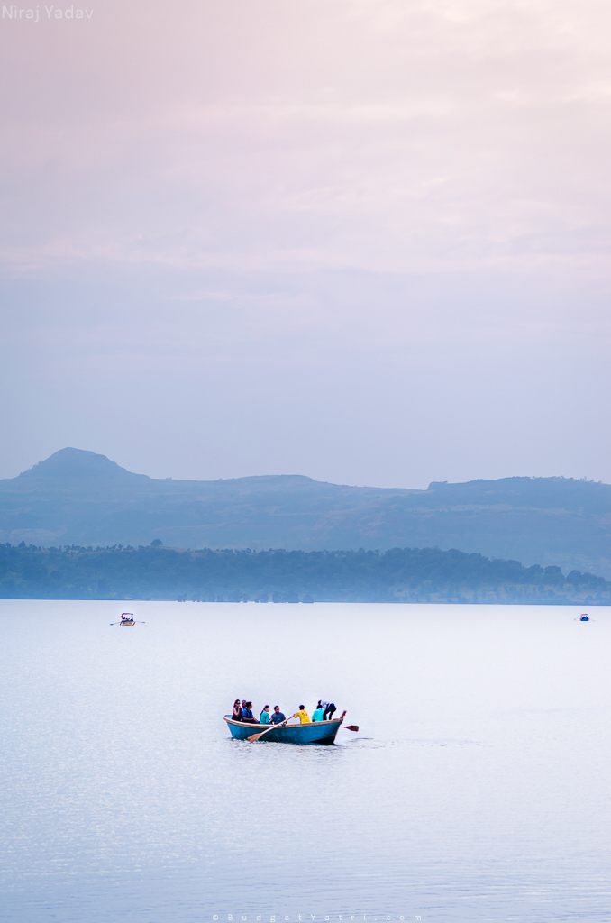 Boating in Bhandardara dam