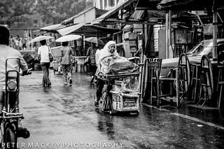 Street scene Malaysia 1977