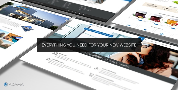 Adama v1.6.0 - Responsive Multi-Purpose WordPress Theme