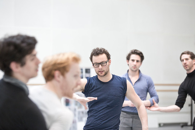 Liam Scarlett in rehearsals for Frankenstein 2016 © ROH. Andrej Uspenski