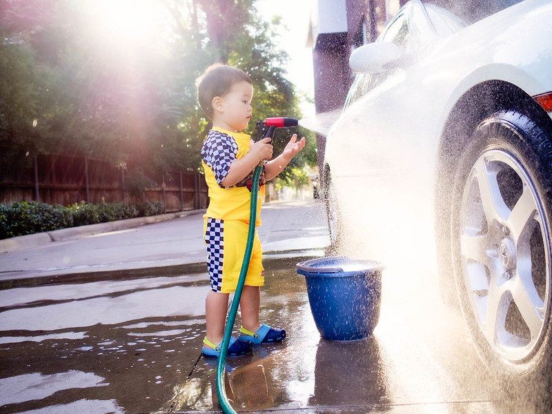 cute & little blog | dylan car wash