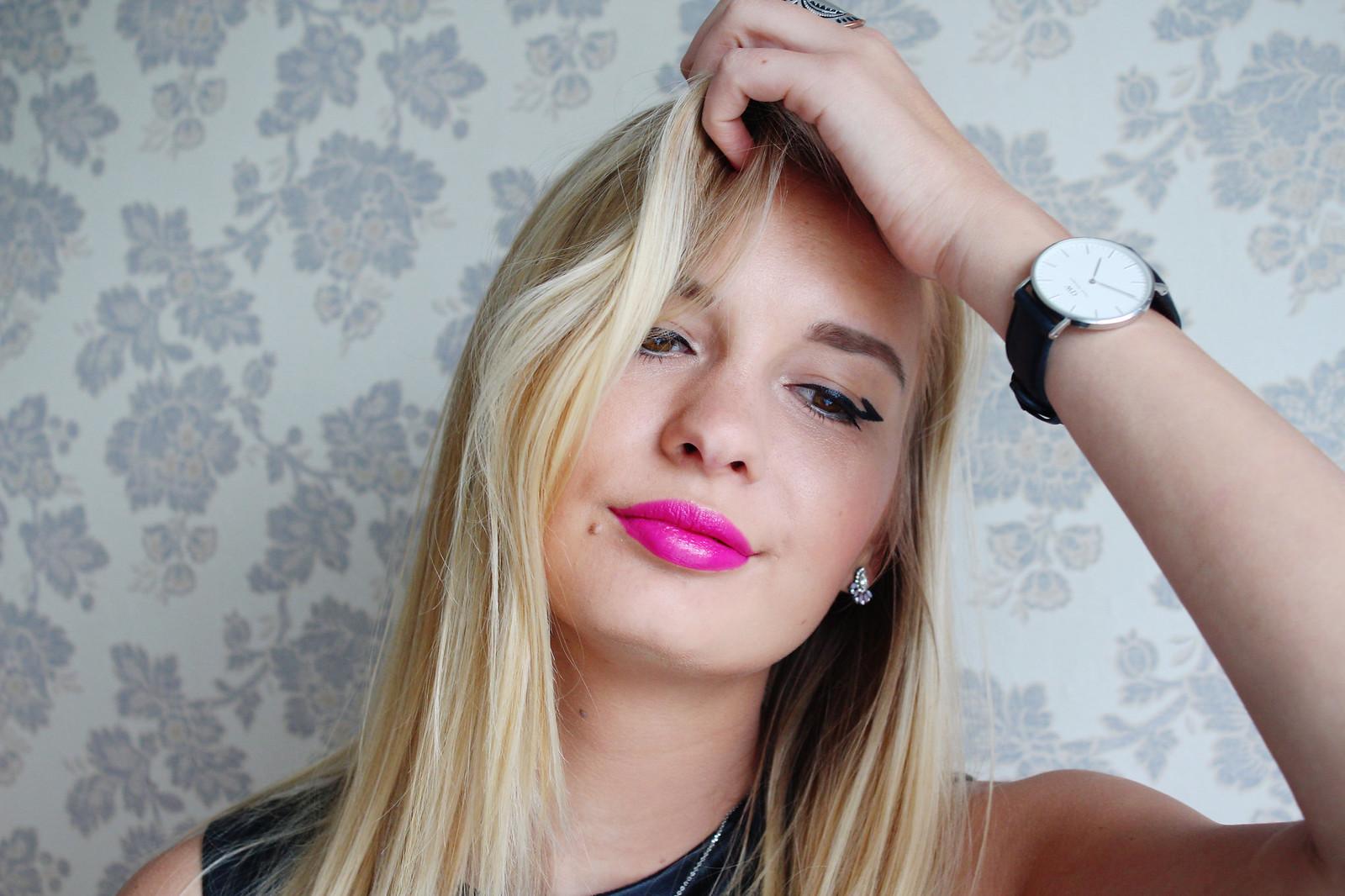 Oriflame makeup look