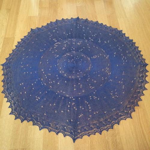 Celestarium shawl
