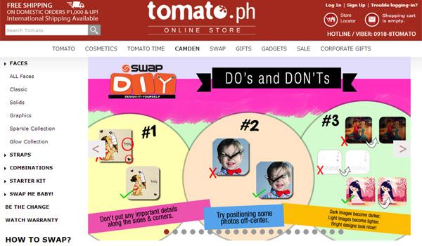 Tomato Swap Watch