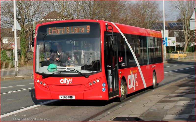 Plymouth Citybus 151 WJ65HMF