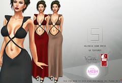Shey Valencia Gown Dress