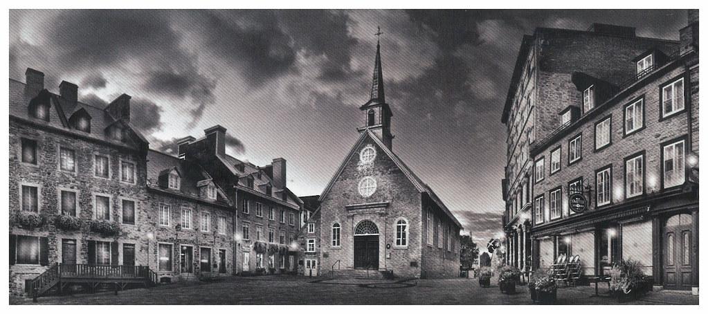 Canada - Quebec - Eglise Notre dame des Victoires