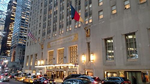 Waldorf Astoria Hotel exterior