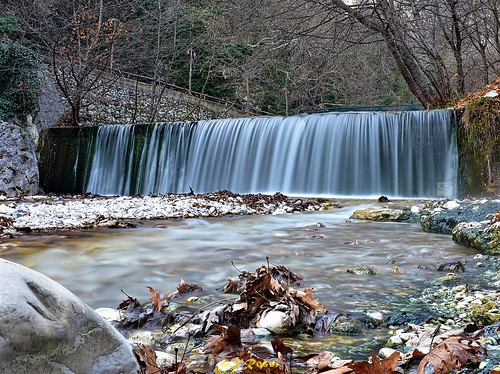 winter nature landscape waterfall macedonia λουτρά μακεδονία πόζαρ καταρράκτεσ pozarbath
