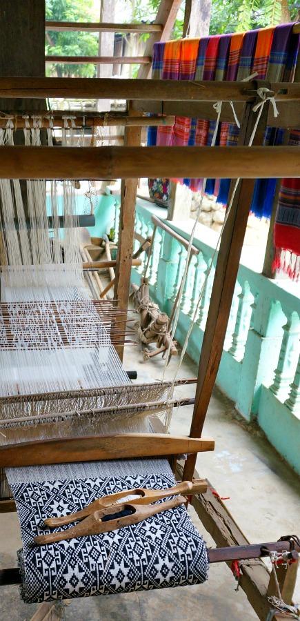 Vietnam Silk Loom
