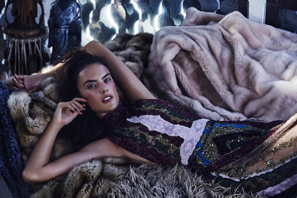 Алессандра Амбросио — Фотосессия для «Harper's Bazaar» KZ 2015 – 1