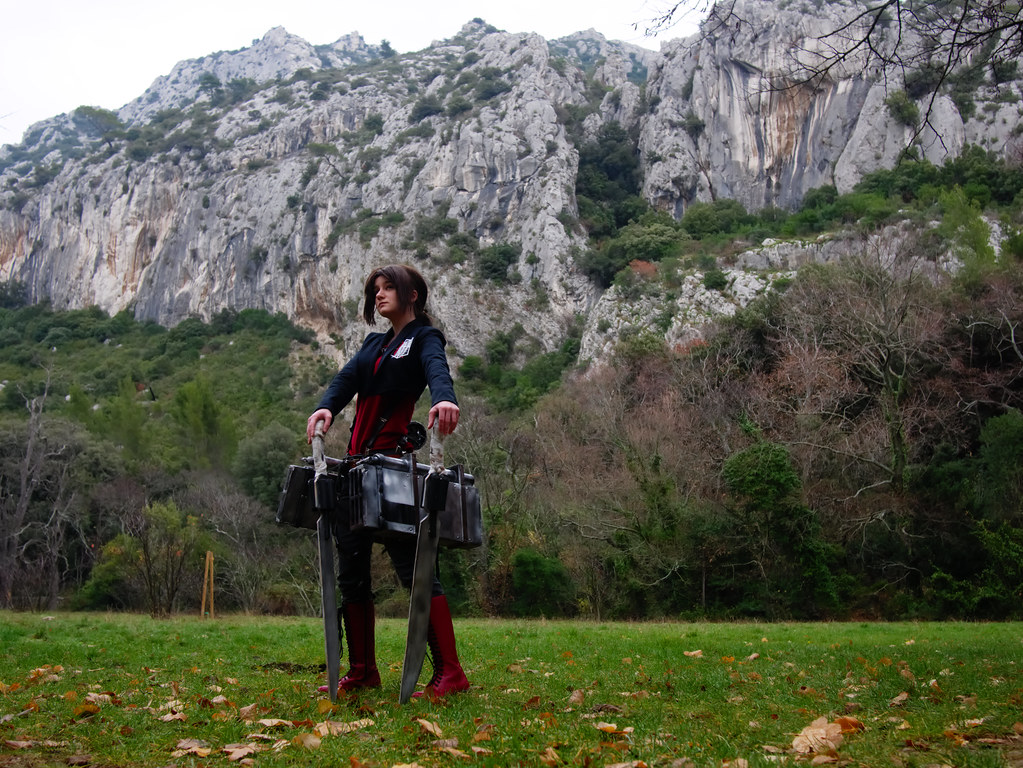 related image - Shooting Shingeki no Kyojin - Parc de Saint Pons - Gemenos - 2015-12-19- P1260293