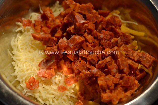 Baguette Croustillante au Fromage et Chorizo © Ana Luthi Tous droits réservés 003
