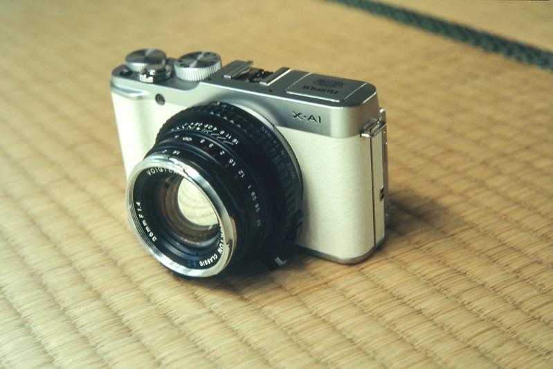 X-A1 + NOKTON classic 35mm F1.4 S.C