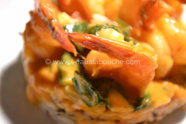 Crevettes et Bettes au Curry Rouge © Ana Luthi Tous droits réservés 17