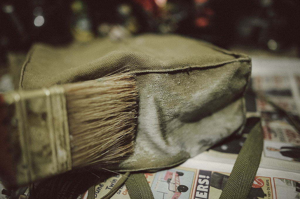 DIY Waxed Canvas Bag