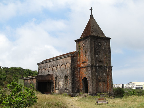 Parc National du Bokor: la vieille église
