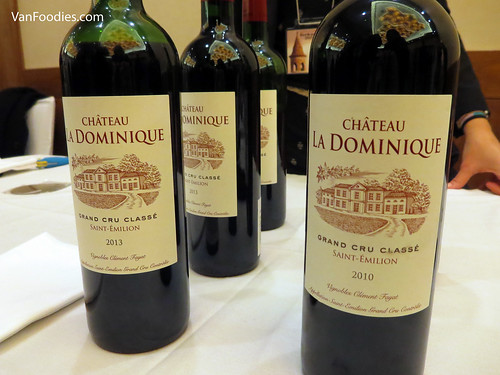 Chateau La Dominique Rouge 2010 & 2013