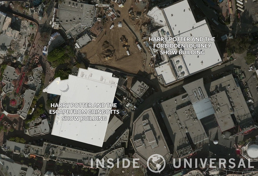 Where could Diagon Alley go at Universal Studios Hollywood?