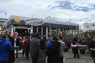 Super Bowl City - Taste of Sonoma
