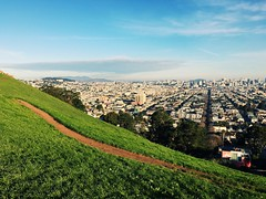 Saturday morning @ Bernal Hill